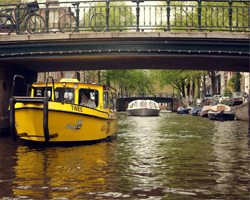 Watertaxi's in Amsterdam